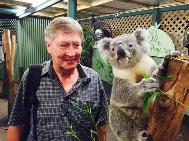 Bild: Rainer mit Koala