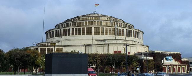 Bild: Jahrhunderthalle in Breslau