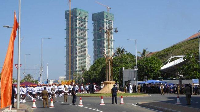 Bild: Unabhängigkeitsparade in Colombo der Hauptstadt von Sri Lanka