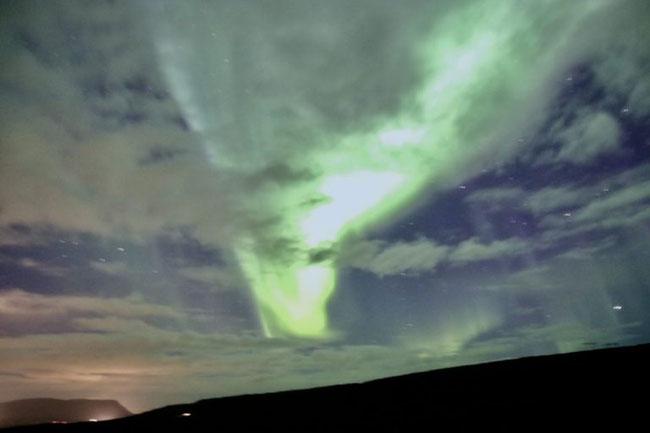 Helles Nordlicht