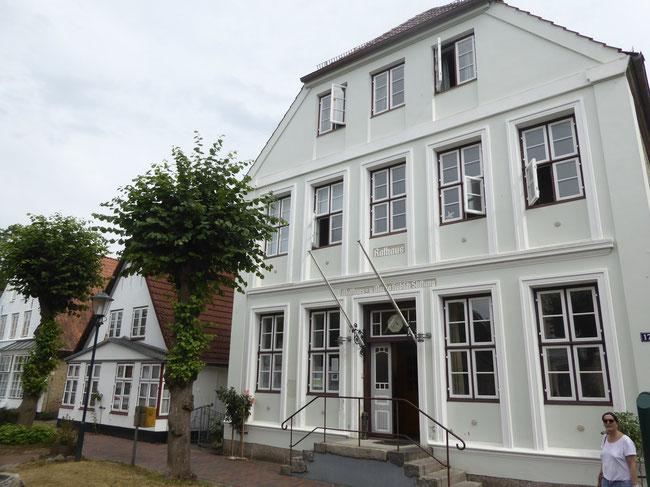 Bild: Das Rathaus der kleinsten Stadt Deutschlands