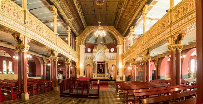 Bild: Tempel Synagoge in Kazimierz in Krakau