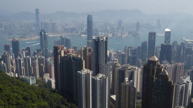 Bild: Blick über Hongkong