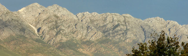 Bild: Winterhoek Mountain bei Tulbagh