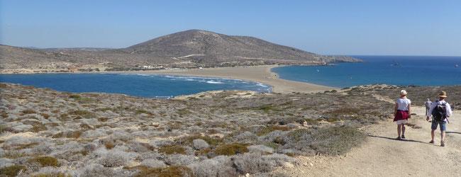Bild: Prasonisi im Süden der Insel Rhodos
