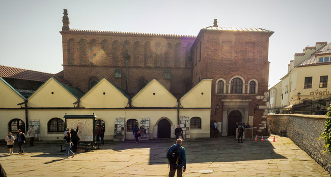 Bild: Alte Synagoge in Krakau im Stadtteil Kazimierz