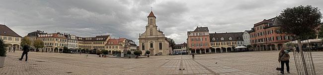 Bild: Der Marktplatz von Lauenburg