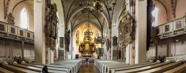 Bild: St. Marienkirche von Rendsburg - Innenansicht