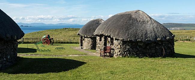 Bild: Blockhouses in Schottland