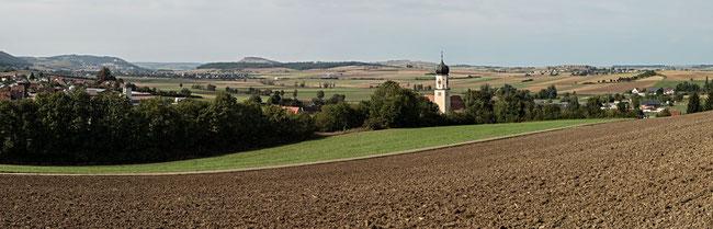Bild: Foto am Rand des Nördlicher Ries
