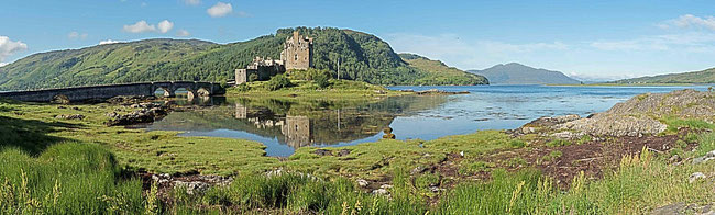 Bild: Eilan Donan Castle in Schottland