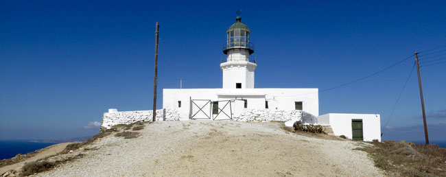 Bild: Leuchtturm Armenistis auf der Insel Mykonos