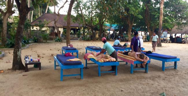 Bild: Balinesische Massage