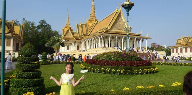 Bild: Königspalast in Phnom Pen