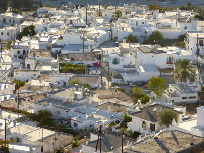 Bild: Asklipion auf der Insel Rhodos