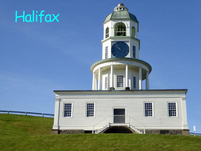 Bild: Der Uhrenturm von Halifax