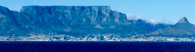 Bild: Table Mountain mit dem Lion´s Head