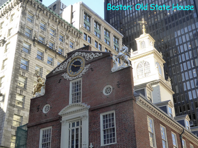 Bild: Das Old State House in Boston