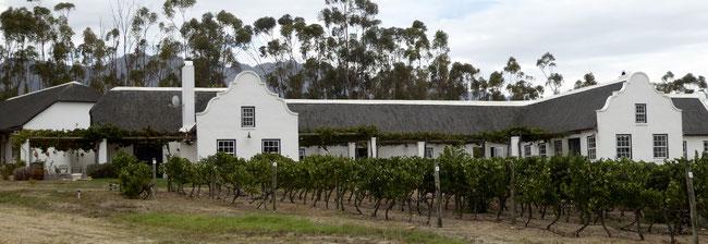 Bild: Unsere Unterkunft in Tulbagh auf einer Weinfarm