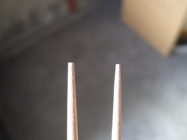 左:けずり前 右:けずり後