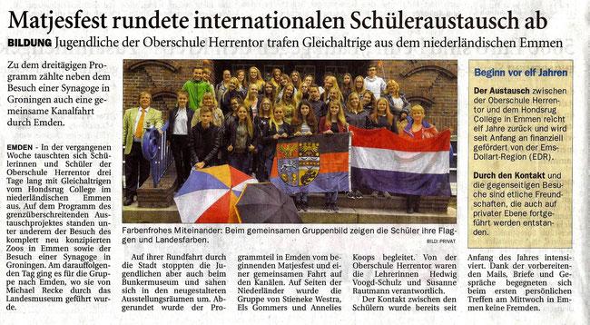 Emder Zeitung, 30.05.2016