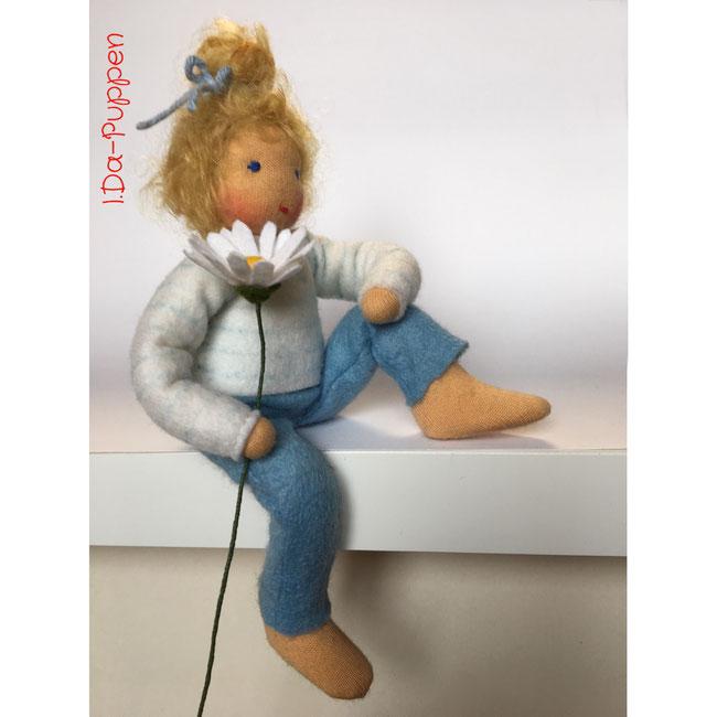 Blumenkinderwerkstatt Daisy Blue Gänseblümchen