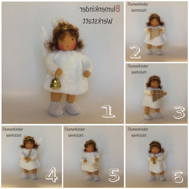Blumenkinderwerkstatt Engelchen 6 verschiedene
