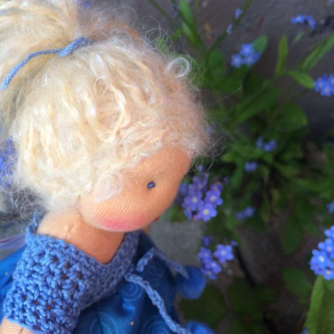 I-Da-Puppen aus der Blumenkinderwerkstatt Puppe Mala