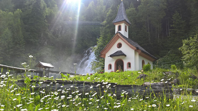 Josefskapelle im Mühlendorf in Gschnitz