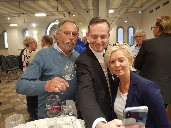 17.05.2019. Reiner Niederberger und Christine Messerschmidt-Steinbock im Gespräch mit unserem Landesvorsitzenden Dr. Volker Wissing, MdL