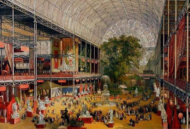 Illustrazione della Grande esposizione universale di Londra (1851)