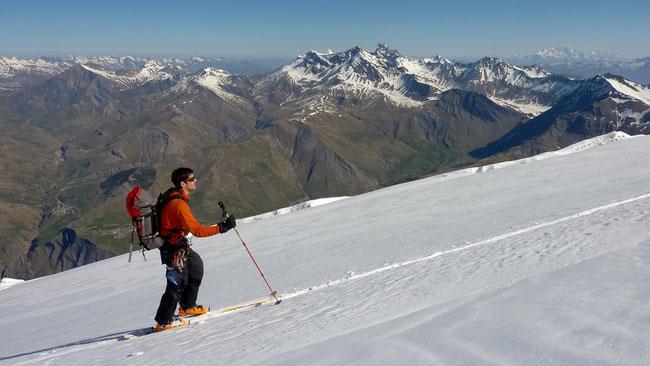 Ski de rando autour de la Meije