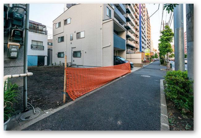 北区田端新町二丁目土地の写真