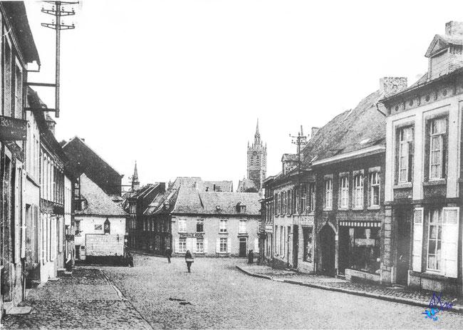 Enghien, la ville dans les années 1900