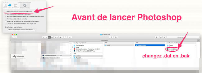 Changer Photoshop FR en anglais…