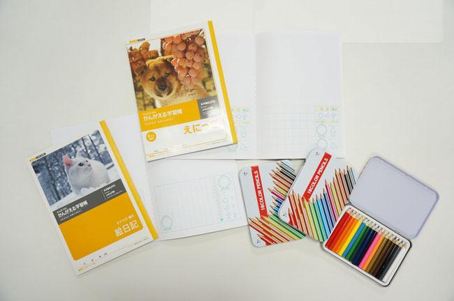 宿題に便利!今なら先着で絵日記と色鉛筆がプレゼントのごたるでっす。