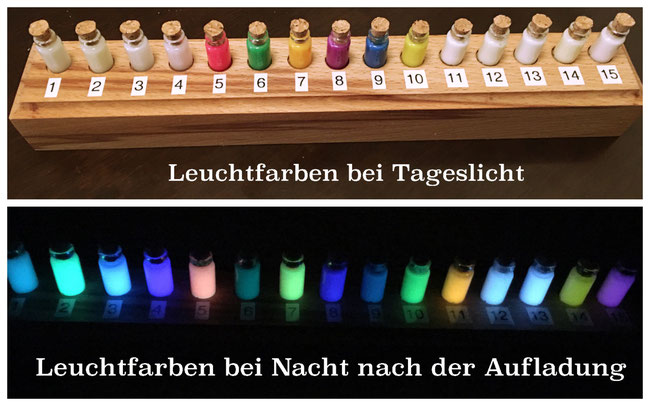 Personalisierter Schmuck mit Glow in the Dark