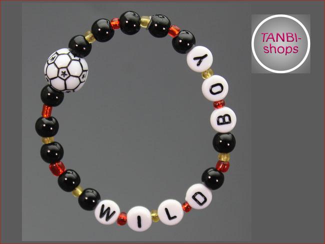 Deutschland, WM, 2018, schwarz-rot-gold, Armband, Kinderarmband, Ball, Fußball, 12.99