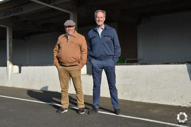 Alexandre Pierquet (Suixtil France) et Igor ont signé un protocole d'accord. Igor sera habillé toute la saison par cette marque historique.Photo : Bertrand Pierre - News d'anciennes