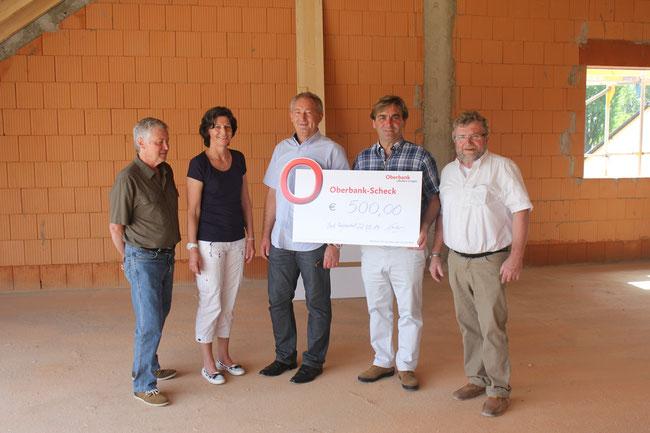 Freiwilligen-Zentrum Neusäß - Spendenübergabe am 22.05.2014
