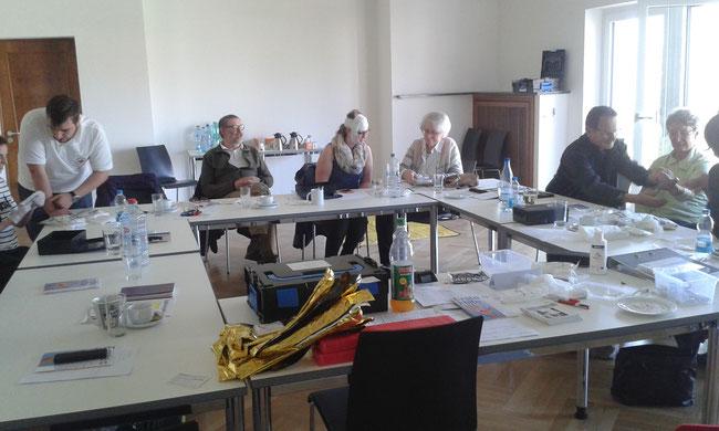Freiwilligen-Zentrum Neusäß - Erster Hilfe Kurs 2017