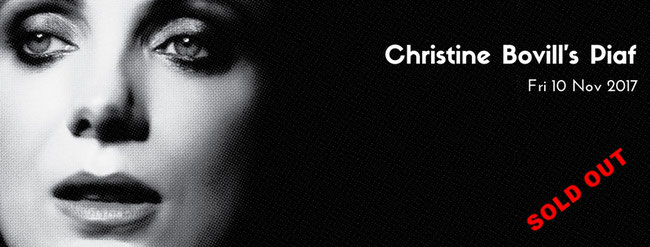 A musical homage to the iconic French chanteuse, Edith Piaf. Christine Bovill at Saddleworth Live.