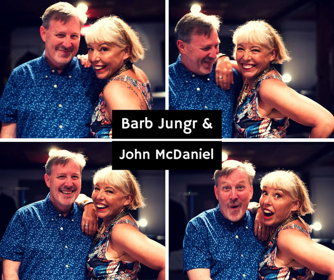 Barb Jungr and John McDaniel perform songs by Sting at the Millgate Arts Centre for Saddleworth Live on 24 February 2018.