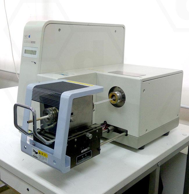 示差熱熱重量同時測定装置 TGDTA6200 加熱炉オープン