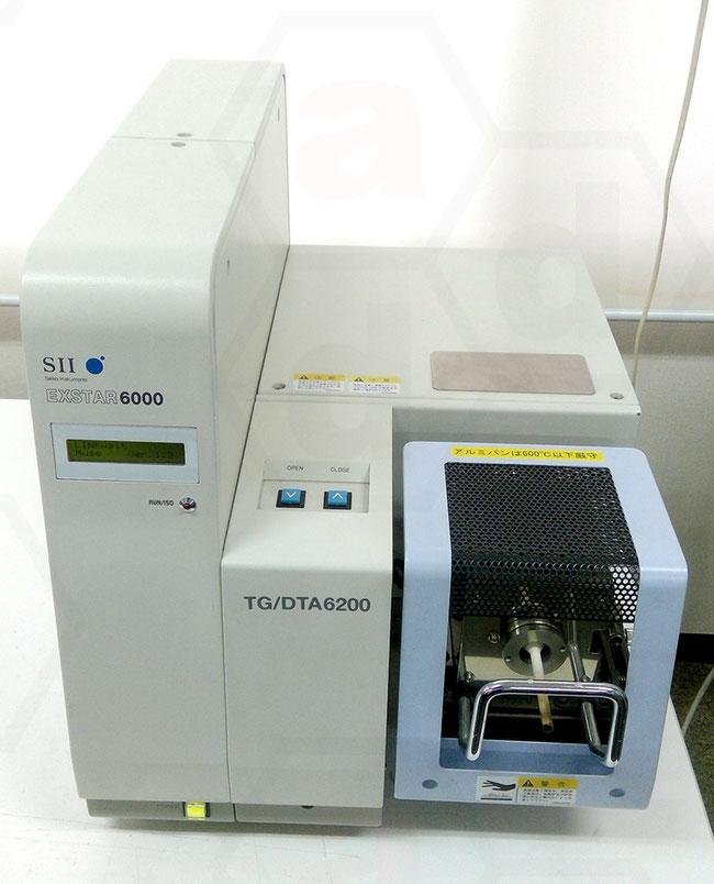 示差熱熱重量同時測定装置 TGDTA6200