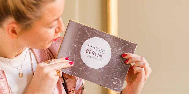 CoffeeBerlin map about coffee bars in Berlin