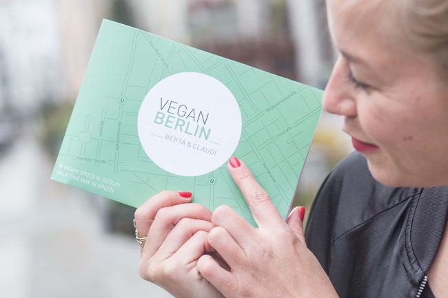 VeganBerlin map - pic by Gili Chen – www.gilichen.com