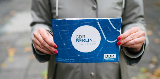 GDR Berlin map