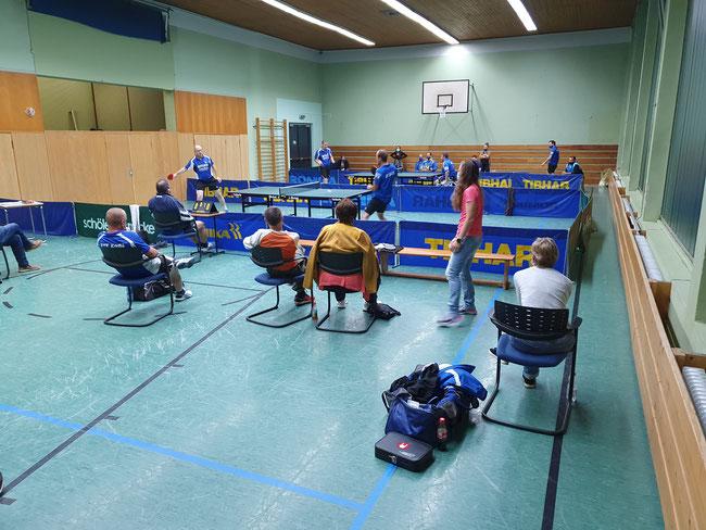 Heimspiel gegen die TTF Bad Sobernheim