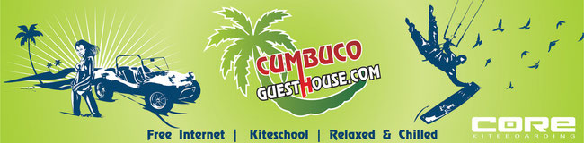 Book your Room at the Cumbuco Guesthouse or let us answer your questions !